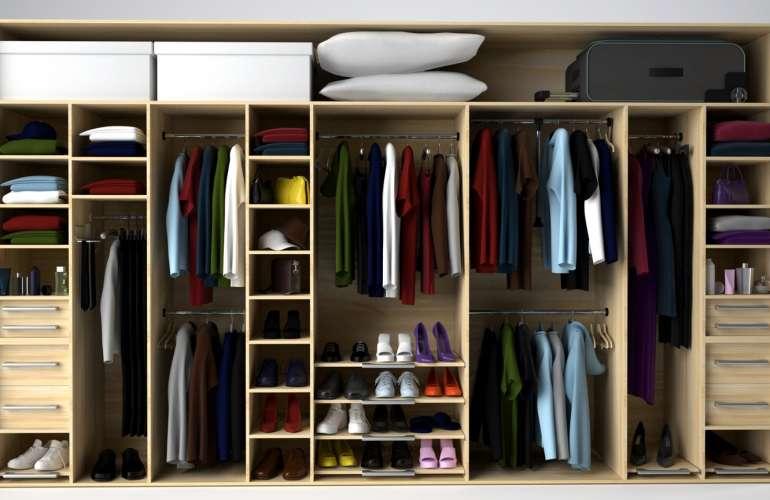 Plánovanie vstavanej skrine, alebo šatníka